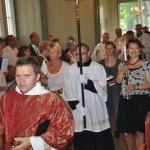 Einzug beim Festgottesdienst zur Inthronisation von Bischof Roald Nicolai