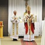 Bischof Roald Nikolai beim Schluß-Segen