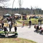 Der Osterkunsthandwerkermarkt auf dem Klostergelände fand großen Anklang