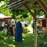 Das Ambiente im Klostergarten wurde sehr geschätzt