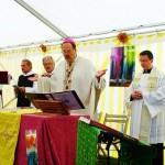 Am Sonntag hielt Abt Klaus Schlapps OPR mit Pfarrer Klaus Mass den ökumenischen Gottesdienst zum Hochfest Mariä Himmelfahrt