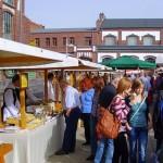 Über 30 Stände waren beim Herbstmarkt von Manufactum in Waltrop vertreten