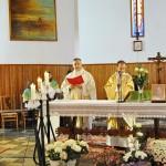 Pater Michael H. Maier OPR und Pater Tomasz Rybka zelebrierten gemeinsam die Eucharistiefeier