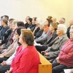 Die Verwandten, Bekannten und interessierten Mitchristen