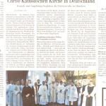 Zeitungsartikel in der Schwäbischen Zeitung, Bad Saulgau, am 23.11.2012