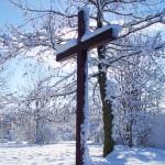 Unser Kreuz vor dem Tor