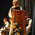Br. Fritz Hartmann bei seiner Predigt