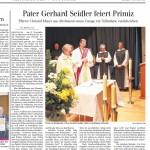 Bericht in der Schwäbischen Zeitung Saulgau vom 17.12.2012