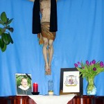 Gedenkbild vor Christus, seinem Erlöser