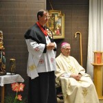 Bischof Dr. Roald Nicolaj Flemestad mit Assistent
