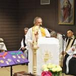 Pater Gerhard Seidler vom Brunnenhof hielt die Fürbitten