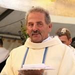P. Gerhard vom Brunnenhof bei der ökumenischen Feldmesse (Foto von Peter Meyer)
