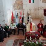Abt Michael Maier OPR hält das Requiem mit einer Predigt auf Englisch