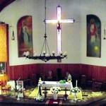 Der Kirchenraum von der Empore aus