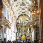 Die prachtvolle Marienwallfahrtskirche von Tschenstochau