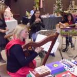 Am Sonntag spielte das Kaufbeurer Ensemble Sorella und brachte so weitere Advents- und Weihnachtsstimmung